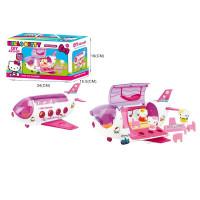 Հավաքածու Hello Kitty + ինքնաթիռ մուլտիկացված