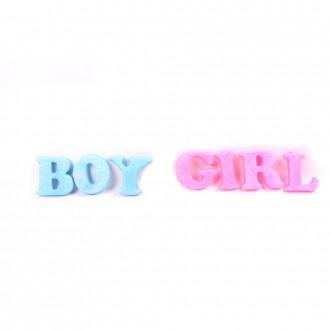 Տառեր Boy & Girl 9սմ-ոց