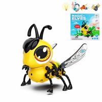 Խաղալիք մարտկոցով մուլտիկացված մեղու, ձեռքի հպումով