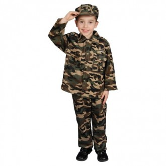Մանկական հագուստ ռազմական