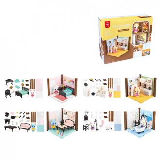 Խաղ ննջարանի, հյուրասենյակի կահույք հավաքածու փոքր 4ձև