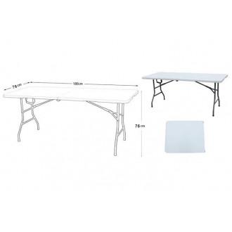 Պլաստիկ սեղան առանց աթոռների  180*76*76սմ