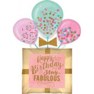 Փուչիկ մեծ Happy Birthday 10հ-ոց