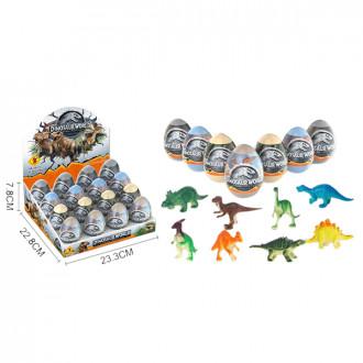 Խաղ ձվիկ 16հ-ոց Dinosaur World 8ձև
