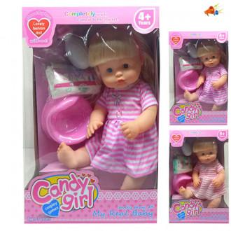 Տիկնիկ Candy Girl, գիշերանոթի հավաքածույով