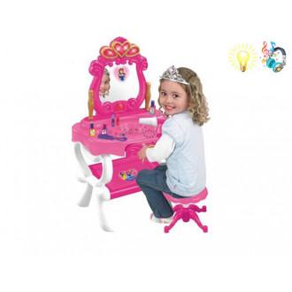 Խաղային զարդասեղանի հավաքածու իր աթոռով