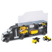 Մեքենա թրեք տուփով, հավաքածու /Slide/taxiing None truck with 6pcs truck Non-trans/