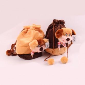 Փափուկ ուսապարկ  շնիկով