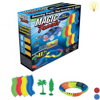 Մեքենա + ճանապարհ magic tracks էլ․մարտկոցով 228կտոր