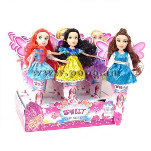 Տիկնիկ Beauty Disney 12հ-ոց տուփով, տարբեր մոդելներ, բլոկով