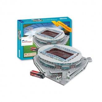 3D փազլ՝ֆուտբոլի մարզադաշտ 105pcs