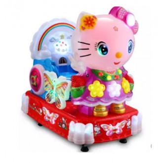 Ատրակցիոն մանկական ճոճվող 220v Hello Kitty-ի տեսքով
