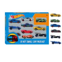 Մեքենա հավաքածու 10հ-ոց տուփով Hotwheels