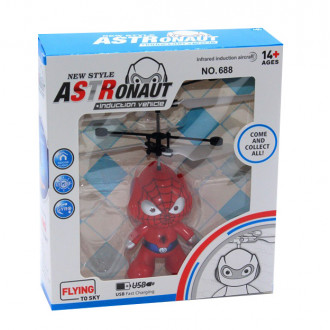Խաղալիք էլ-մարտկոցով, թռչող Spider man