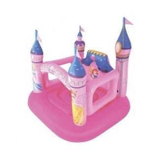 Փչովի բատուտ ամրոց տնակ Disney Princes Bestway (85кг) 1.57m x 1.47m x 1.63m Castle Bouncer