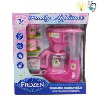 Խոհանոցային սրճեփ էլ-ով բաժակով, Frozen