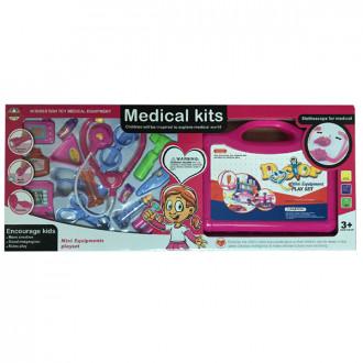 Բժշկական հավաքածու տուփով մեծ + ճամպրուկ