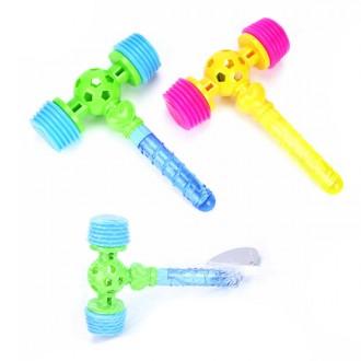 Խաղալիք մուրճ, չրխկան + օճառաջուր /hammer&bubble stick