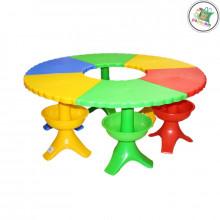 Պլաստմասե մանկական սեղան