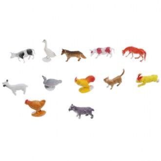Կենդանիների հավաքածու  փոքր 12հ-ոց