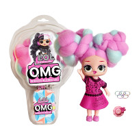 Տիկնիկ LOL O.M.G. իր երկար հյուսե մազերով