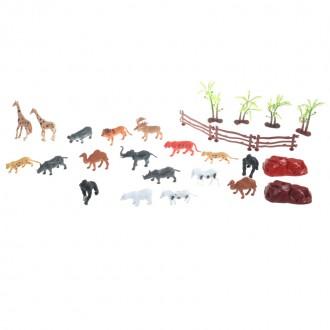 Կենդանիների հավաքածու կոլբայով (վայրի գիշատիչ)