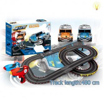 Խաղ ռալլի մեծ,էլ. սնուցմամբ, վահանակով /Remote Control 4.8 meters slot car off-road vehicl/