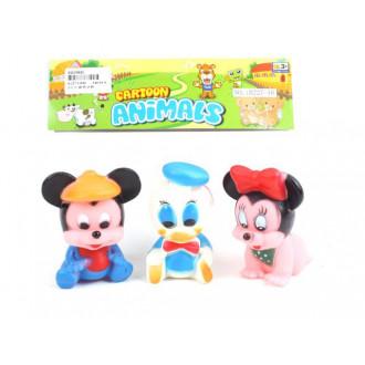 Խաղ ռեզինե ծվիկ 3հ-ոց, Mickey