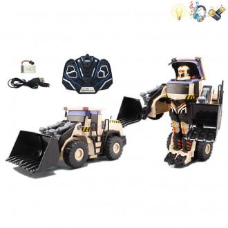 Մեքենա շինարարական կերպարանափոխվող ռոբոտի, հեռակառավարմամբ
