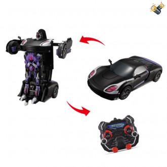 Մեքենա կերպարանափոխվող ռոբոտ, հեռակառավարմամբ