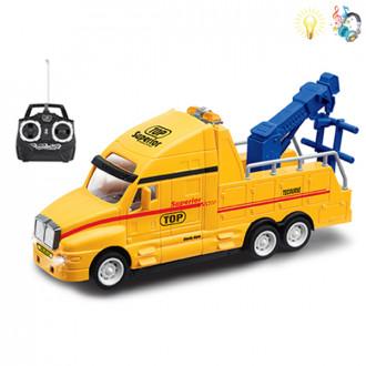 Մեքենա բեռնատար փոքր կռանով հեռակառավարմամբ, մարտկոցով
