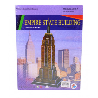 3D Փազլ՝ Empire state building