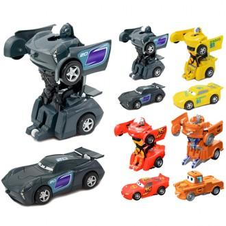 Խաղ ռոբոտ տրանսֆորմեր 4ձև Cars