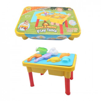Խաղ սեղանիկ հավաքածույով, ավազե