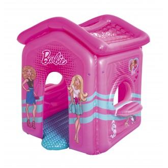 Փչովի տնակ Barbie, Bestway 1.50m x 1.35m x 1.42m Malibu Playhouse