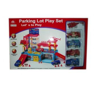 Խաղ ավտոտնակ մեքենաների կայանատեղի