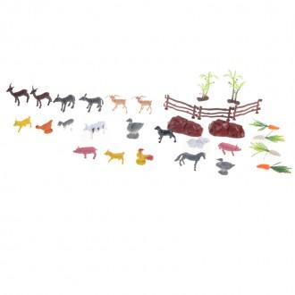 Կենդանիների հավաքածու կոլբայով (ընտանի)