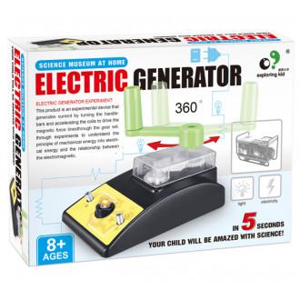 Կառուցողական խաղ գլուխկոտրուկ, էլեկտրական գեներատոր