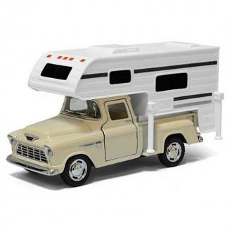 1955 Chevy Stepside Pick-up (Truck Camper)