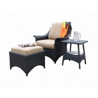 Պարտեզային աթոռ իր սուրճի սեղանով 2+1 հավաքածու
