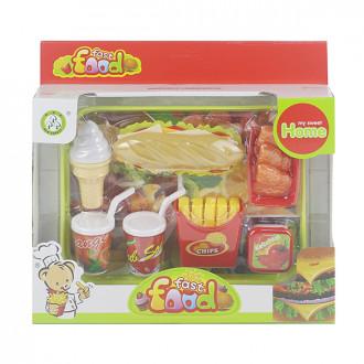Խաղային սննդի հավաքածու, hոթդոգ սենդվիչ սկուտեղով