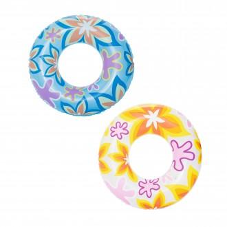 Փչովի լողի օղակ ցել-ով, Bestway Φ76cm Designer Swim Ring