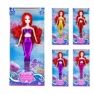 Տիկնիկ տուփով Mermaid Princess ջրահարս 4ձև