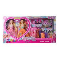 Տիկնիկ տուփով Fashion Girl իր հագուստների հավաքածույով,երկու տիկնիկ