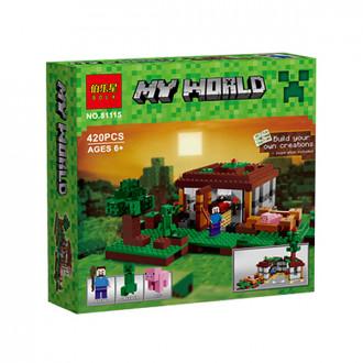 Լեգո տուփով My World 420կտ.