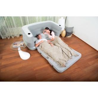 Փչովի աթոռ բազմոց ներքնակ /BESTWAY & Pavillo 2.00m x 1.60m x 64cm Multi Max II Air Couch