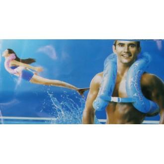 Փչովի բաճկոն լողալու (ճկուն խողովակատիպ) երեք 3-չափի /LIFE VEST,MIX PINK BLUE CLR/ 297 L / M / S