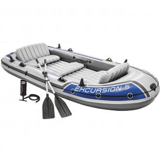 Փչովի նավակ + թիակ + պոմպ