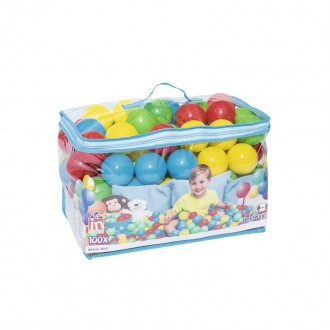 Մանեժի գնդակ 100հ-ոց 6.5սմ-ոց, պայուսակով BESTWAY 6.5cm Splash & Play 100 Play Balls