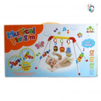 Մանկական նորածնի խաղ հրապարակ, երաժշտական